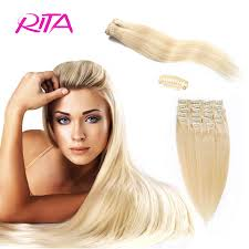 Cheap Human Hair Extensions Clip In Full Head by Popular Human Hair Clip Buy Cheap Human Hair Clip Lots From China