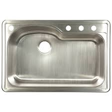 Drop In Kitchen Sinks Shop Franke Usa Kinetic 33 In X 22 In Silk Deck And Silk Bowls