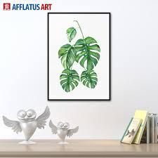 plant home decor 2017 modern minimalist nordic plant a4 large art prints poster