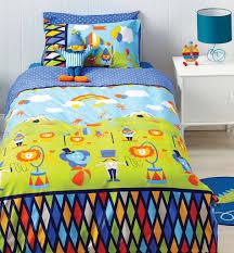 circus fun quilt cover set circus bedding kids bedding dreams