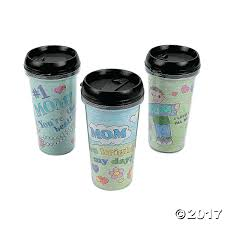 color your own artist travel mugs