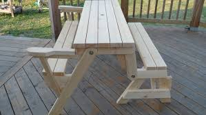 fabulous folding picnic table plans 13 in home decorating ideas