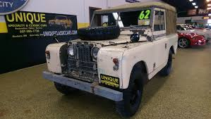 classic land rover for sale on classiccars com 1962 land rover series iia my classic garage