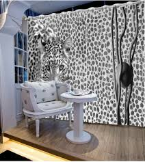 Custom Bedroom Curtains White Online Get Cheap Tiger Curtains Aliexpress Com Alibaba Group