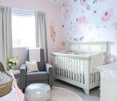 pink flamingo art contemporary nursery benjamin moore silver