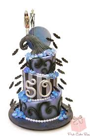 50th birthday nightmare before christmas cake halloween cakes