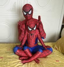 Halloween Costumes Xxxl 2015 Style Lycra Spandex Spiderman Children Size Hero
