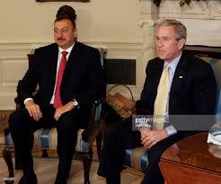 azerbaijan president ilham aliyev left meets in the oval o