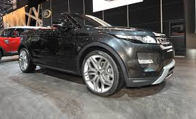 land rover convertible land rover range rover evoque convertible concept u2013 news u2013 car and