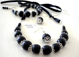 beautiful earring necklace set images 50 black necklace and earrings new arrival black pearl jewelry jpg