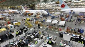boeing prepares to create moving assembly line for 787 dreamliner