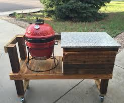 kamado joe grill table plans diy kamado grill table grill table diy grill and ceramic grill