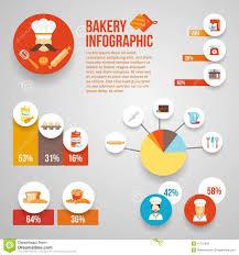 bakery infographics set stock vector image 47721049