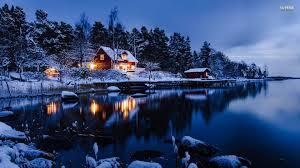 winter cabin winter cabin wallpaper for desktop 57 images