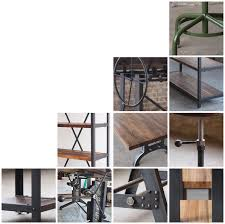 Industrial Modern Furniture by Campos Iron Works Modern Iron Industrial Desks Standup