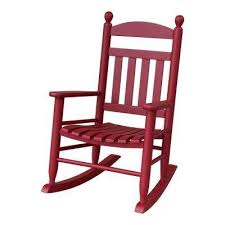 Wood Patio Chairs Wood Red Rocking Chairs Patio Chairs The Home Depot