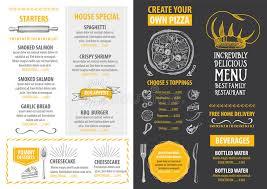 cafe menu template vintage restaurant menu templates restaurant