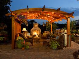 Backyard Gazebo Ideas Romantic Gazebo Ideas With Lighting And Plants Ideas Outdoor