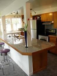 kitchen island with breakfast bar
