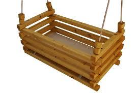 hanging crib double swing bassinet baby rocker round furniture o