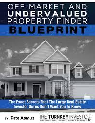 off market and undervalued property finder blueprint