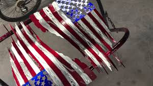 Ripped American Flag Candy Painted Battle Worn American Flags Recently Completed Youtube