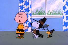 charlie brown thanksgiving dinner menu what to watch on tv thanksgiving weekend
