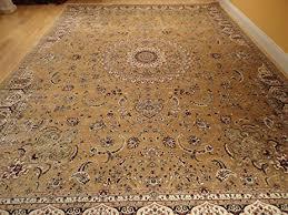 Luxury Rug Amazon Com Stunning Silk Persian Rug Gold 8x12 Living Room Gold