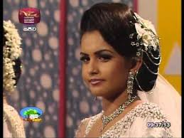 srilankan hairstyle bridal dressing sri lanka for nuga sewana program bridal