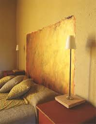 Paint A Headboard by D I Y Paint A Headboard Right On The Wall Improvised Life
