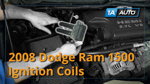 2004 dodge ram 1500 hemi engine how to install replace ignition coils dodge ram 1500 hemi 5 7l buy