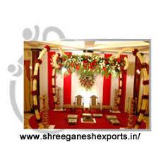 Mandap Decorations Wedding Mandap Decorations Exporter From Patiala