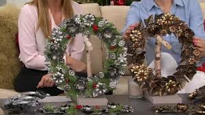 ed on air metal wreath garland or centerpiece by degeneres