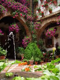 patio en barrio de miraflores córdoba españa unesco world