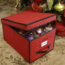 Box Ornament Ornament Storage Box With Dividers For Large Decorations