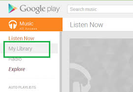 Top Bar Songs How To Play All My Songs In Google Music Quora