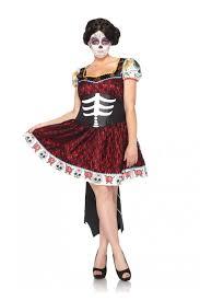 dia de los muertos costumes black 2 pc dia de los muertos costume amiclubwear