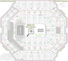 At T Center Floor Plan by Barclays Center Brooklyn Nets U0026 Concerts Seat Numbers Detailed