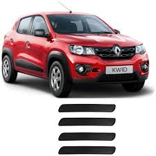 renault kwid white colour car bazaar car guard bumper protector for renault kwid car