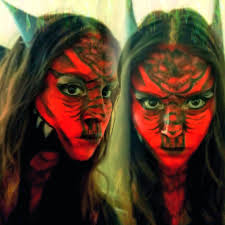 red dragon halloween costume dragon face paint tutorial youtube