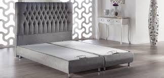 Gray Platform Bed Prince Platform Bed W Headboard Diego Gray By Sunset