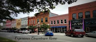 downtown rome ga businesses restaurants and more