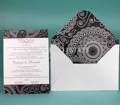 Wedding Cards Online India Free Shipping Hi1037 Popular India Style Black And White Wedding