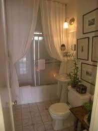 Shower Curtain Vs Shower Door Spa Inspired Bathroom Makeover Spa Inspired Bathroom Ceiling