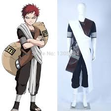 Naruto Costumes Halloween Compare Prices Gaara Halloween Costumes Shopping Buy