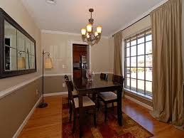 dining room pictures with chair rail interior design