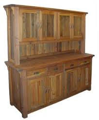 rustic hutch artisan frontier barnwood buffet u0026 hutch for the