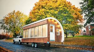 sustainabile living seattle blue tiny house wheels incredible