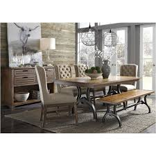 Liberty Furniture Dining Room Sets 411 T4274 Liberty Furniture Arlington House Trestle Table