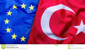 The European Flag Flags Of The Turkey And The European Union Turkey Flag And Eu